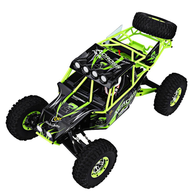 2.4G 1:10 Scale Remote Control Electric Wild Track Warrior Car <font><b>10428</b></font> with Transmitter bigfoot off road RC Rock Crawler car gifts image