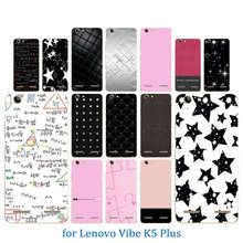 Phone Case for Lenovo Vibe K5 Back Cover K5 Plus Lemon 3 A6020 Colorful Pattern Soft Silicon For Lenovo A 60206020 Crystal Coque(China)