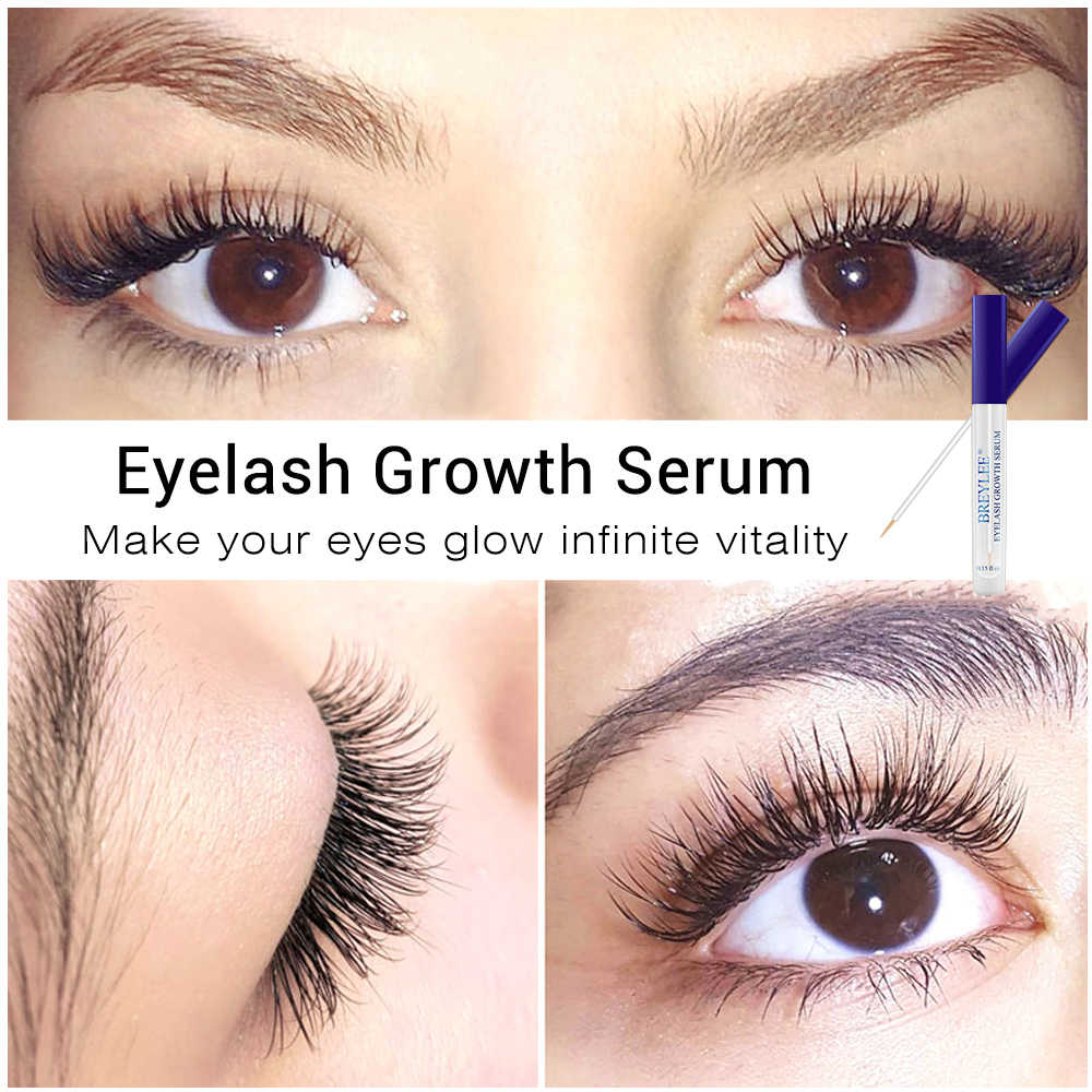85de256f1d6 ... BREYLEE Eyelash Growth Serum Eyelash Enhancer Eye Lash Treatment Liquid  Longer Fuller Thicker Eyelash Extension Makeup ...