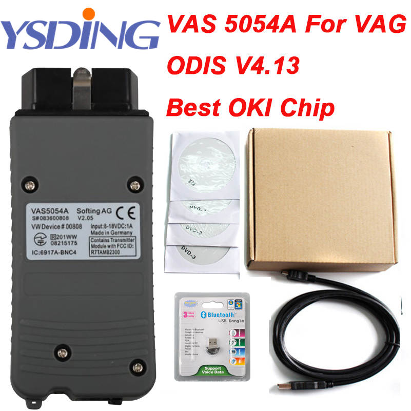 ODIS V4 13 With License OKI Full Chip VAS5054A Bluetooth Multi Languages Vas 5054a VAS5054 VAS