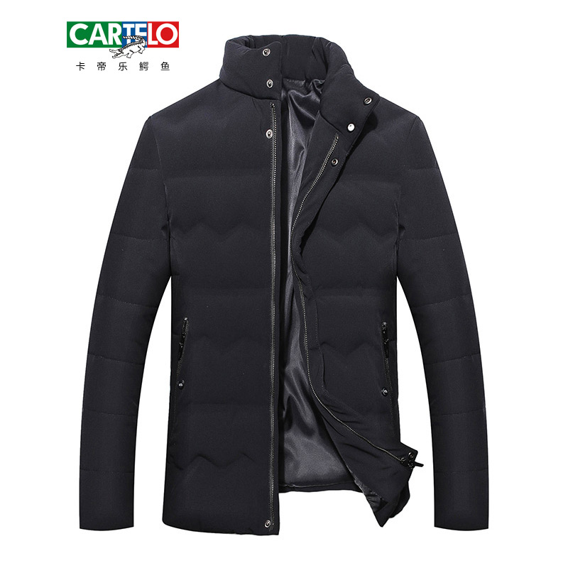 CARTELO Winter Men Jacket 2017 Brand Casual Mens Jackets And Coats Thick Parka Men Outwear Jacket Male Clothing FB17011G03 hot sale winter jacket men fashion cotton coat warm parka homme men s causal outwear hoodies clothing mens jackets and coats