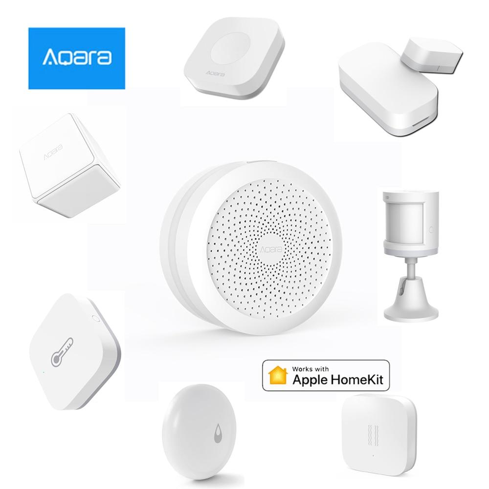 Xiaomi Aqara Smart Home Kit Gateway Hub Door Window Sensor Human Body Wireless Switch Humidity Water