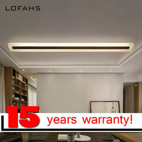 LOFAHS Modern LED Ceiling Light For Corridor Aisle Entrance Dining Room Living Room Long Strip Lamp