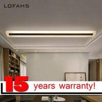 LOFAHS Modern LED Ceiling Light For Corridor Aisle Entrance Dining Room Living Room Long Strip Lamp
