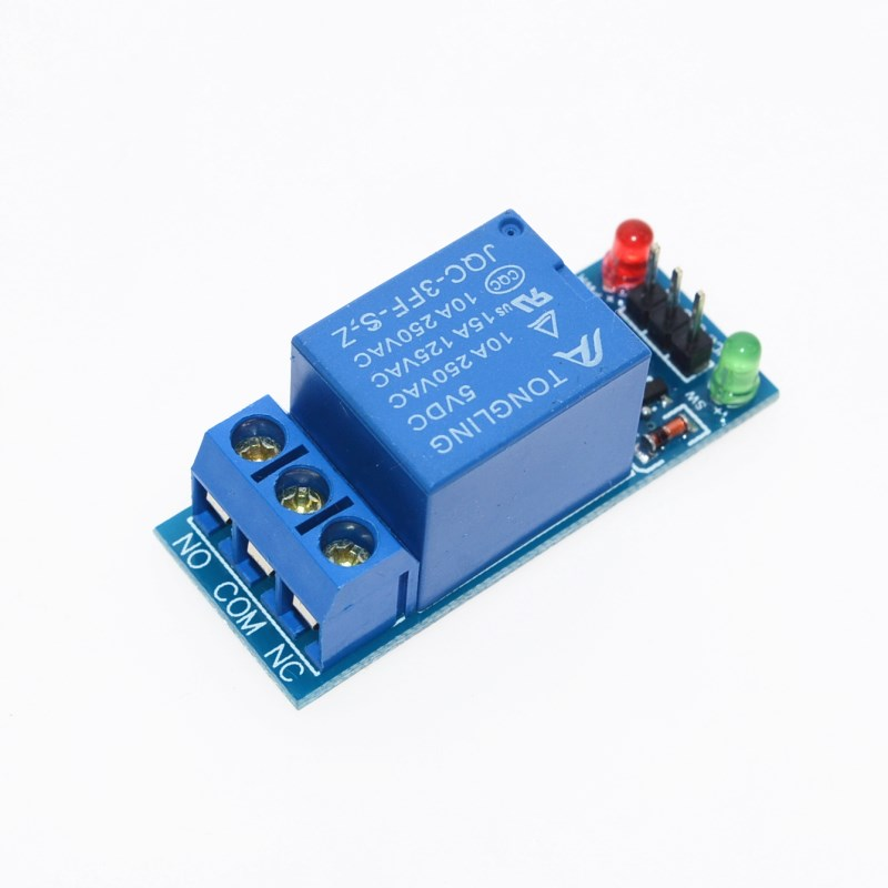 Free Shipping 1PCS 5V low level trigger One 1 Channel Relay font b Module b font