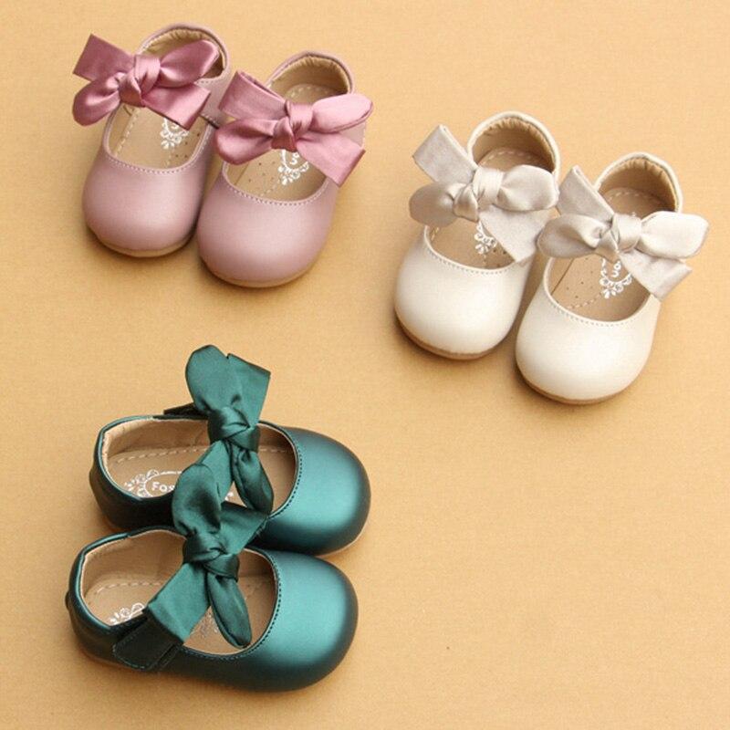 estilo chines arco no sapatos berco carrinho de bebe recem nascido da menina da crianca macio