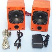 Tiancoolkei 10a usb bluetooth del equipo de audio amplificador de altavoz de 3 pulgadas de rango completo de altavoces de escritorio
