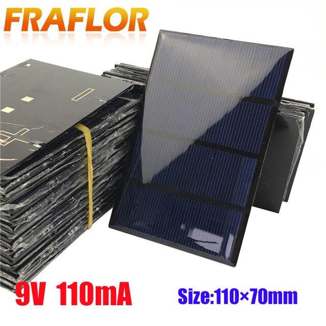20pcs Lot 1w 9v Solar Panels Solar Glue Plate Solar Small