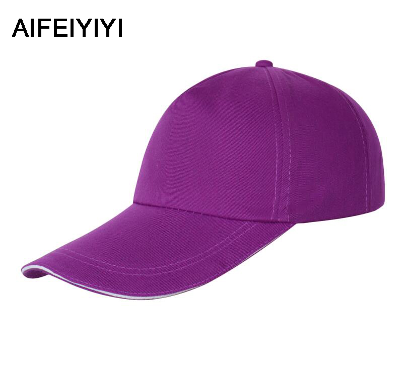 Men's & Women's Casual Baseball Caps Wild Hats Spring Fashion's Pure Baseball Caps