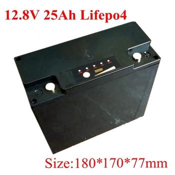 Lifepo4 baterii 12 V 25Ah dla słoneczne światła uliczne LED elektryczny rower elektryczny bateria litowa darmowa wysyłka głębokie cyklu tanie i dobre opinie BATTERXPERT G347 Other about 2 4kg 180*170*77mm 12 8v