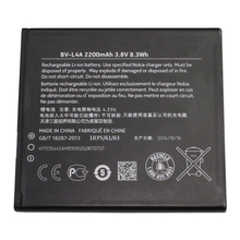 Original High Capacity BV-L4A Phone battery for Nokia RM-984 RM-985 Lumia 830 2200mAh