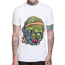 Demon Zombie Men T Shirt New Fashion Cotton Short Sleeve  White Funny 3D Printed Man T-shirt O-Neck Tops Mens Cool Tee Shirts