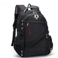 Brand Quality Men Laptop Backpack Women Business Travel Backpacks Male Large Capacity Childen School Bag Mochila