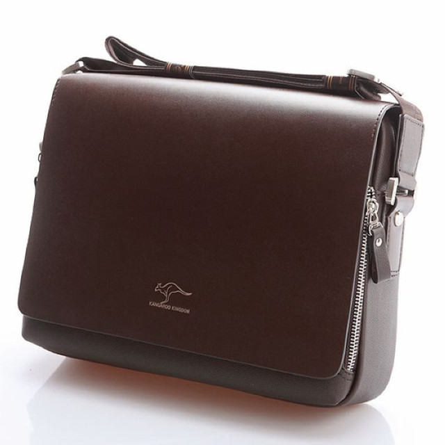 Maletín canguro de marca de diseñador para hombre, bolso de viaje de cuero suave, para negocios, oficina, ordenador, portátil, funda, bolsas de mensajero