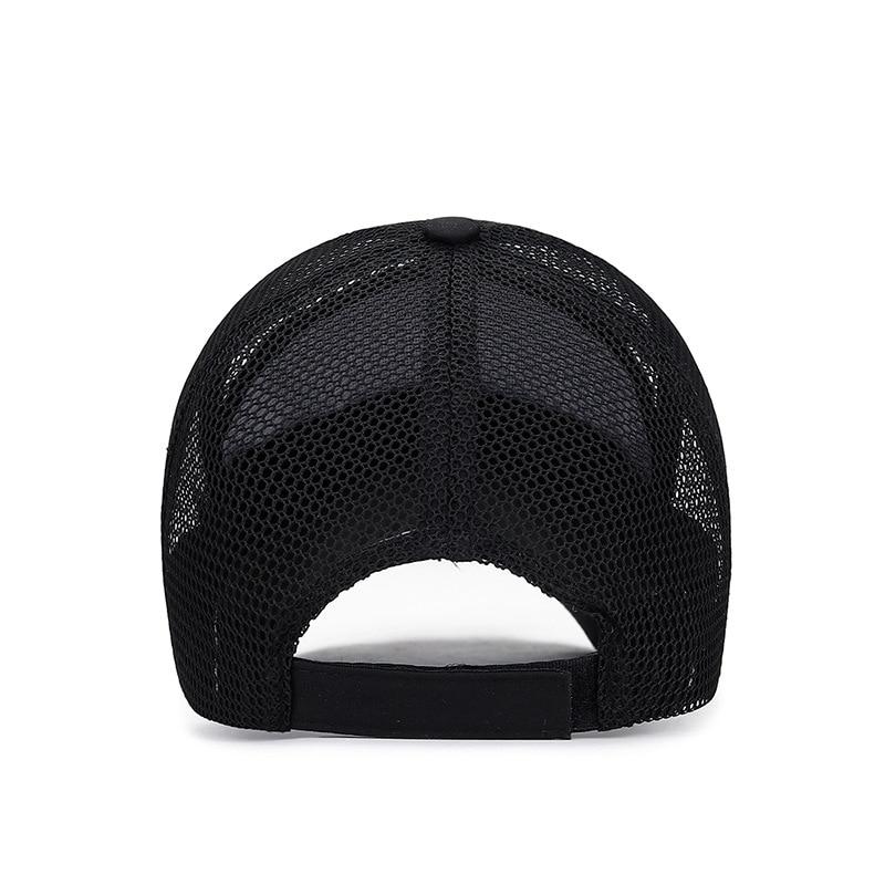 COKK Baseball Cap Men Summer Mesh Cap Sun Hat Outdoor Sports Breathable Bone Male Casquette Gorras Hats For Men Women Casual in Men 39 s Baseball Caps from Apparel Accessories