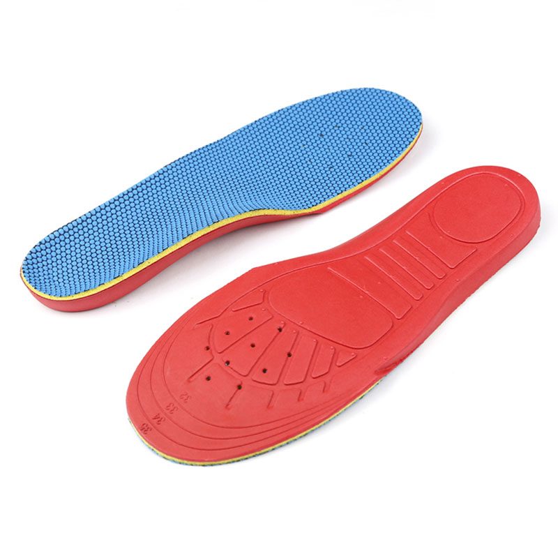 1 Pair Unisex Orthopedic Orthotic Arch Support Insoles Pads for Flatfoot Flat Foot 32-35 Shoes Pad Arch support insole for Kids