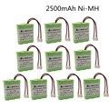 7 2 Вольт Новый 2.5Ah 2500mAh Ni-MH 7 2 V аккумуляторная батарея для iRobot Roomba Braava 380 380T Высокое качество