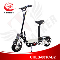500W 1000W 36V Adult Foldable Electric Scooter with Alloy Front/Rear Fork&Foot Pedal can Install Rear Basket