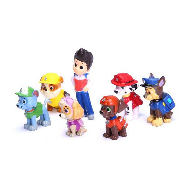 venta caliente figura de accin de patrulla canina cachorro de perro de juguete para nios juguetes