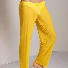 Helisopus прозрачные брюки мужские сексуальные прозрачные брюки мужские свободные сетчатые прозрачные марлевые штаны для сна под брюки