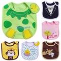 3 pçs/lote Babadores Para Bebês de Algodão Infantil Toalhas Saliva Bordado anti vestir Desgaste Do Bebê Burp Cloths Engraçado Do Bebê Acessórios atacado