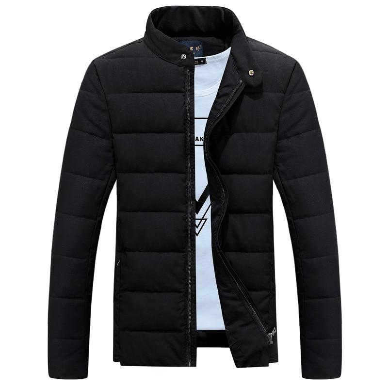 ФОТО New Trend Collarless Winter Jacket Men/Boy Doudoune Homme Hiver 2016 Wave Cut Fashion Mens Slim Fit Cotton Down Jackets 4Xl
