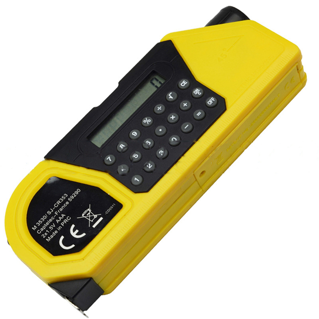 Multifunction Tape Measure Laser Level with Calculator