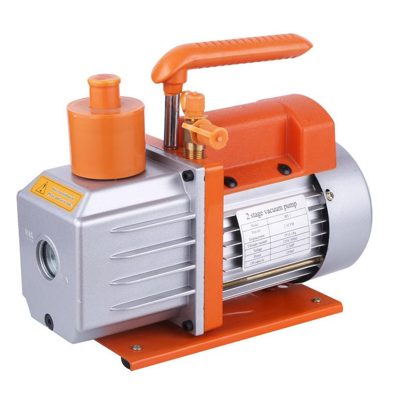 Подробнее о 5.0CFM Two Stage 2RS-2 110V/60HZ Rotary Vane Refrigeration Vacuum Pump Air Pump 0.3Pa HVAC Air new 110v 60hz high reliable hvac rotary vane vacuum pump tw 1m suitable for r410a r134a r22 r407c r12