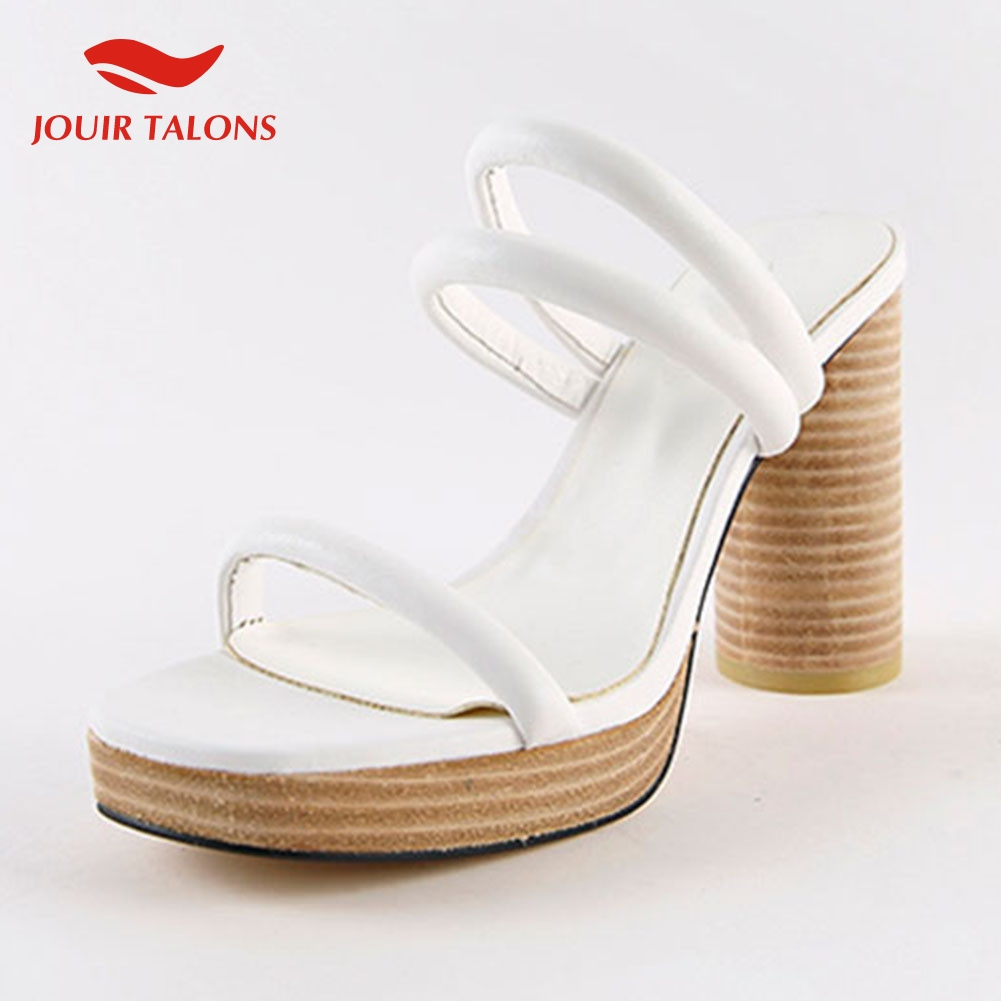 Fashion Ladies High Heels Platform Mules Shoes Woman Sexy Party Summer Slippers 2019 Shoes WomenFashion Ladies High Heels Platform Mules Shoes Woman Sexy Party Summer Slippers 2019 Shoes Women