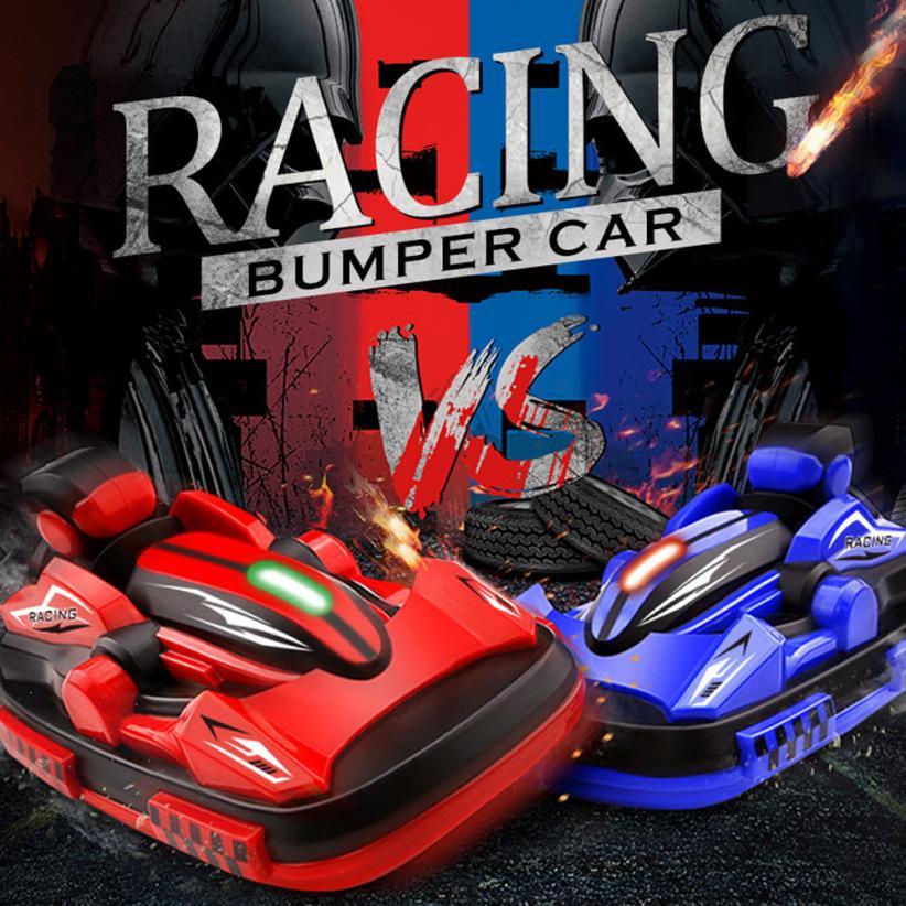Remote Control RC Bumper Cars RC Toy Game 2 Radio Control Vehicles Y1123 ...