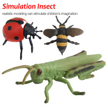 1Pc Action&Toy Figure Insect Animal Handmade Simulation Insect Model Collection For Kid Children Gift все цены