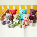20CM Kawaii Small Teddy Bears Plush Toys Mini Colorful Teddy Bear Stuffed Animals Fluffy Bear Dolls Soft Kids Toys Children Gift
