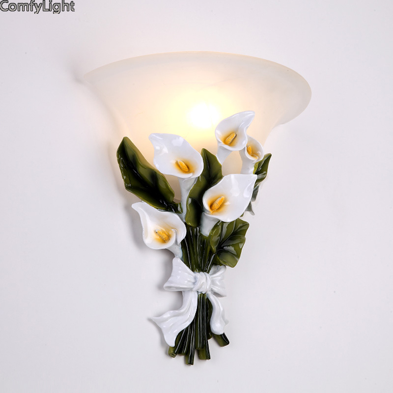 Wall lamp Loft American Morden indoor light bedside lamps industrial sconce bedroom Wall lights for home lighting 110V/220V E27