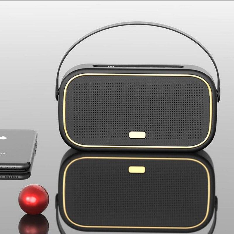 Haut-parleur Bluetooth sans fil Portable multifonctionnel haut-parleur Bluetooth intelligent haut-parleur Bluetooth stéréo extérieur