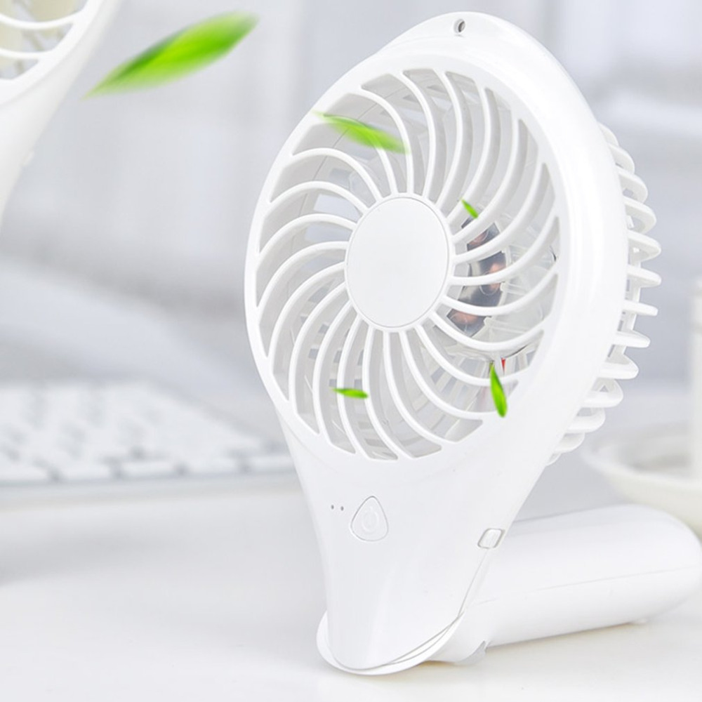 Fans Small Air Conditioning Appliances 2018 New 1800 Mah Lithium Battery Can Be Rotated 180 Degrees Foldable Hand Fans