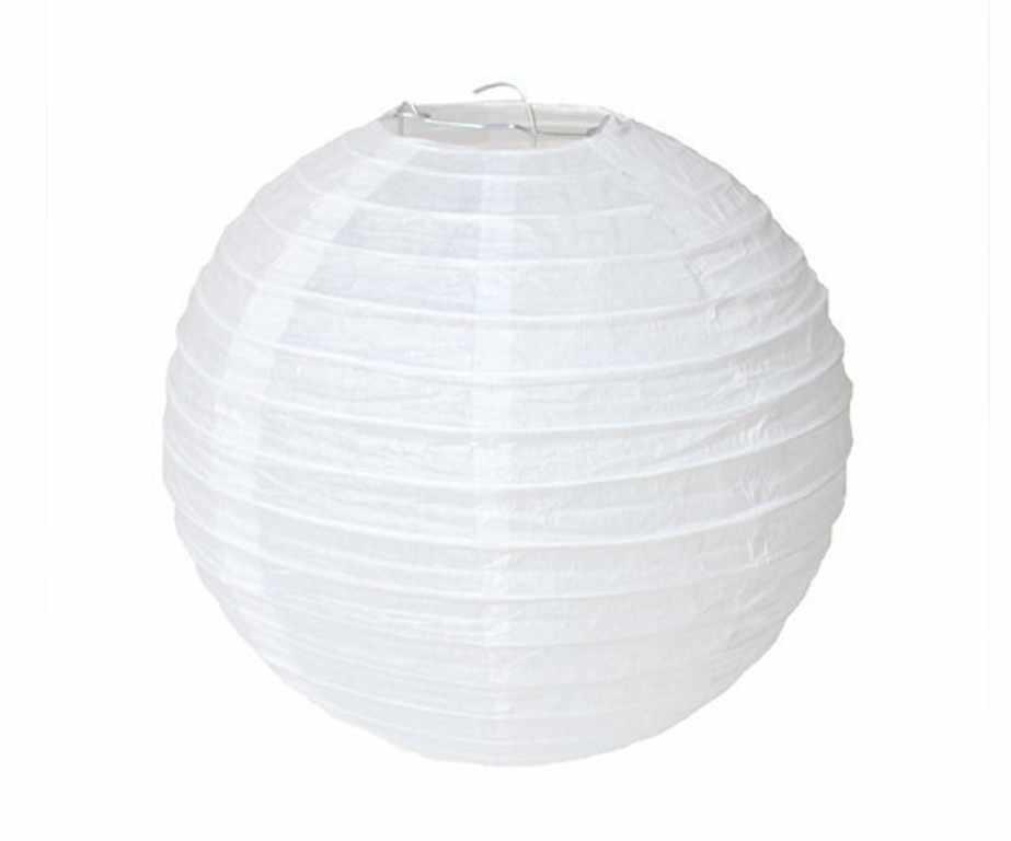 200 Pcs/lot Round Cina Kertas Lentera 20 Cm Putih Biru Pink Ungu Hijau Kuning Hitam Emas Perak Beige Lampion