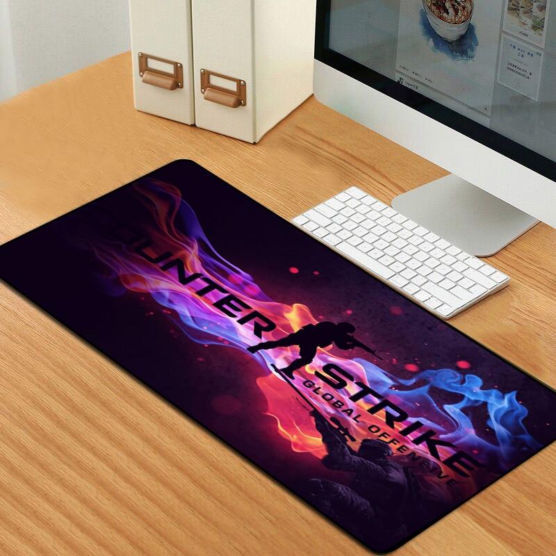 Image 5 - Sovawin 80x30 см XL Lockedge большой игровой коврик для мыши  компьютерный геймер CS GO клавиатура Коврик для мыши Hyper Beast  Настольный Коврик Для Мыши для ПК-in Коврики для мыши from Компьютеры и  офисная техника on AliExpress
