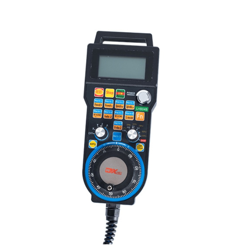 XHC CNC handwheel wireless Mach3 MPG pendant handwheel 4 axis pulse 50PPR optical encoder generator for cnc router