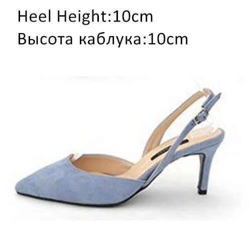 Blue Shoes 10cm