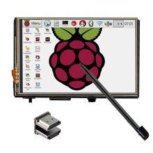 """3.5 """"ЖК-дисплей HDMI USB Сенсорный экран 320×480 до 1920×1080 ЖК-дисплей Дисплей аудио для Raspberry Pi 3 PI 2 (играть в игры видео)"""