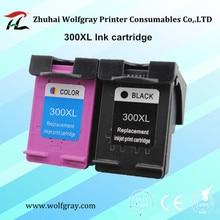 2 шт. чернильный картридж 300 300XL для HP Deskjet D1660 D2560 D2660 D5560 F2420 F2480 F2492 F4210 принтеры