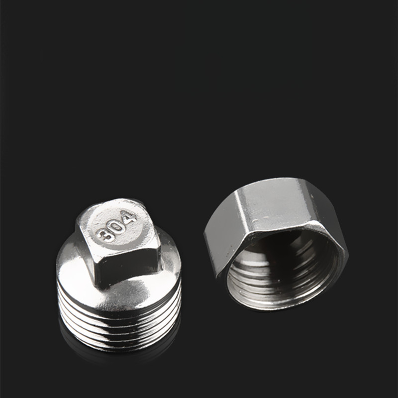 Stainless Steel Wire Water Pipe Hose Tap Cap Thickening