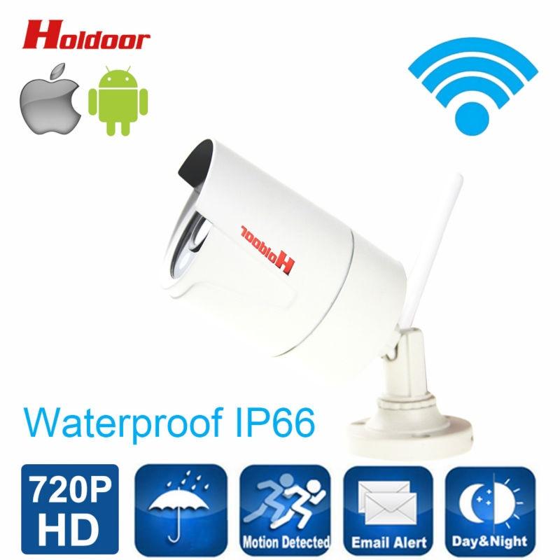 ФОТО 720P HD IP Camera WIFI Onvif 2.0.4 P2P for Smartphone IP66 Waterproof  Support Up To 64G Micro SD Card 15m IR Outdoor IP Cam