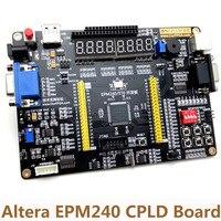 Altera EPM240 CPLD Multi Function Board AD DA Stepper Motor Interface Receiver Development Board USB Blaster