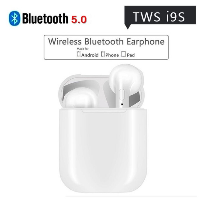 6bc52af33af Novo fone de Ouvido Bluetooth 5.0 i9s ifans V4.2 Tws Mini fone de Ouvido