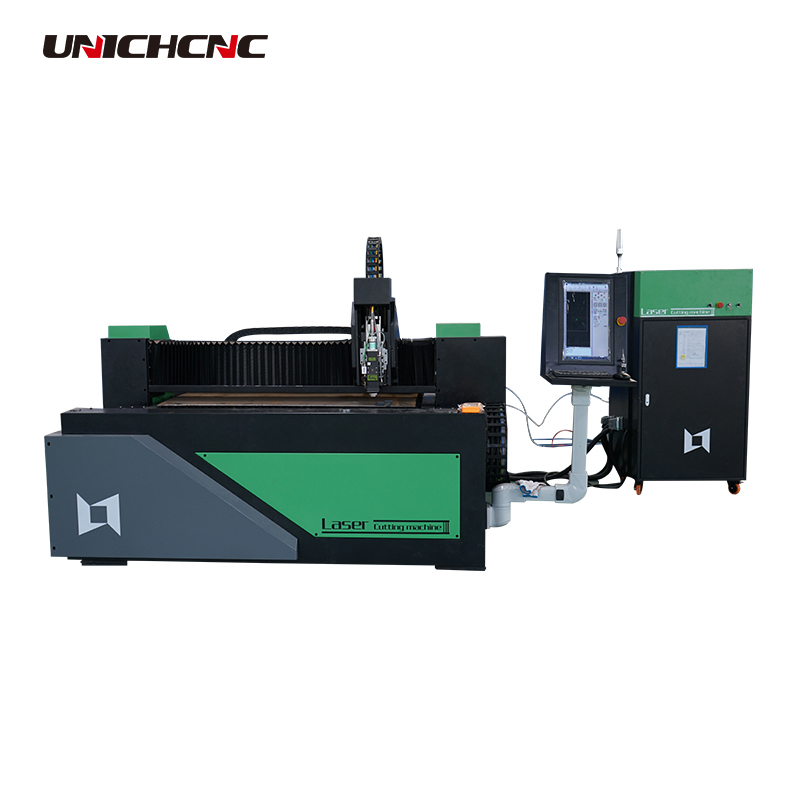 pipe tube 6m cutting 1000w /1500w Raycus fiber laser cutting machine