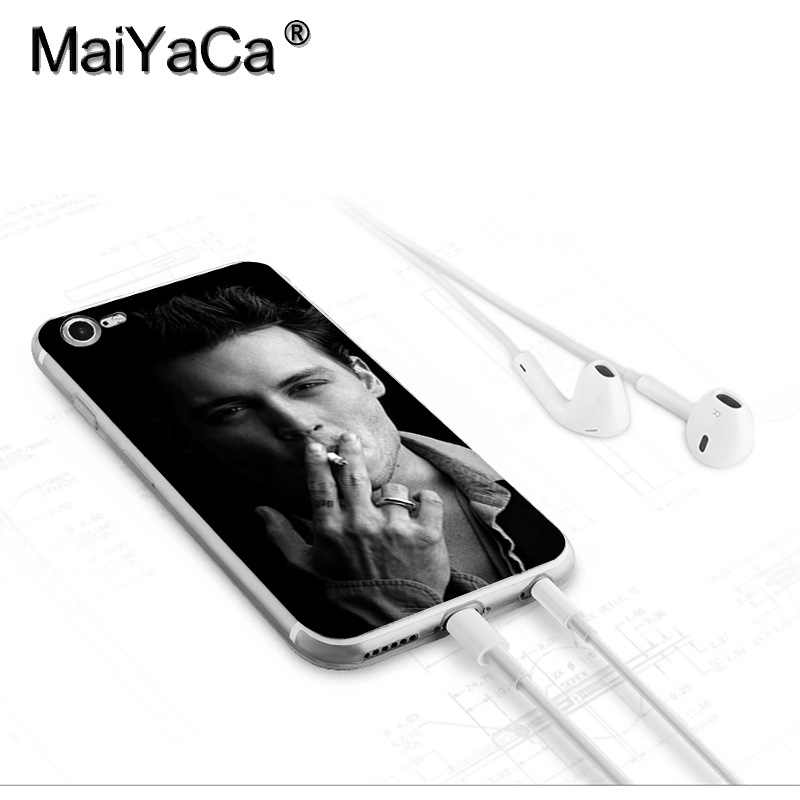 MaiYaCa johnny depp Newest Fashion Luxury phone case  for Apple iPhone 8 7 6 6S Plus X 5 5S SE XR XS XS MAX Mobile Cover