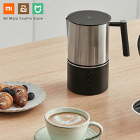 Xiaomi scishare electric milk frother cappuccino shaker steamer jugs machine pitcher automatic foamer stainless maker