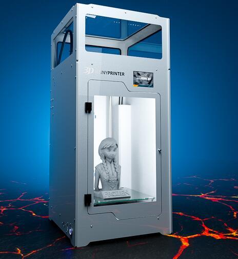 2019 JennyPrinter Z370 buse d'extrudeuse imprimante 3D kit de bricolage pour Ultimaker 2 UM2 étendu avec couvercle supérieur et porte