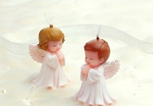 Angel Style Candle